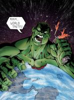 Hulk Eat World by thecreatorhd