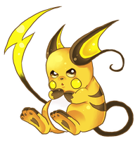Raichu by oOCreamyCupcakeOo