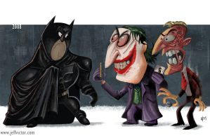 Evolution of the Batman Films Part 7 by JeffVictor