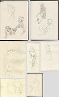 Figure drawing by Roman-Stevens
