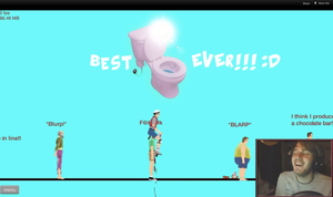 LOL Pewdiepie happy wheels by 2Awesome4U2