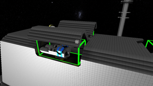 Empire Freighter primary defence turrets by Dimcreaper