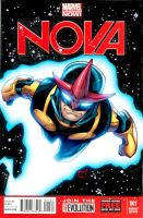 Nova sketch cover colored by bennyfuentes