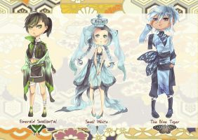 Butterfly Gijinka Adoptables : { CLOSED } by ClockworkAdopt