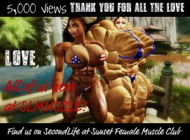 Thank you! by SLMUSCLE
