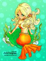 Mermaid Pin Up by Dianabolique
