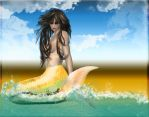 mermaid by tanithharbinger