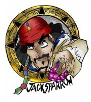Jack Sparrow coin by Missy-Sparrow