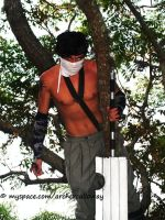 Zabuza in the tree Jacon 08 by Archercalloway