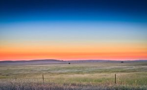 Field at Twilight by Caitiekabob