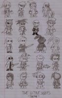 Original Characters- The Little Siders Set4 by DarkOliver
