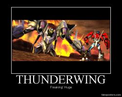 Transformers: Prime The Game Thunderwing by Onikage108