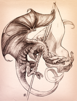 Welsh Dragon by soulwithin465