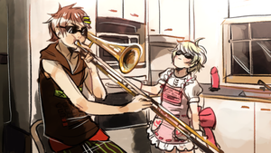 when nico isn't home by alpacasovereign