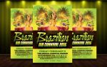 Brazilian Carnival Flyer Template by MatteoGianfreda94