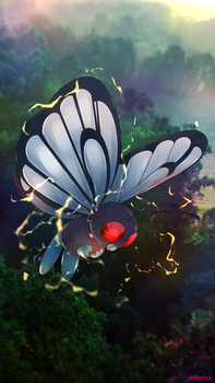 Day 387 - Butterfree by AutobotTesla