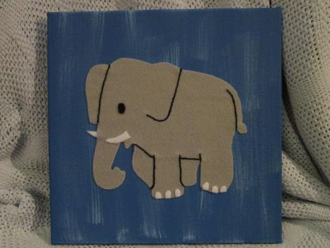 Elephant by DuctapeFaerie