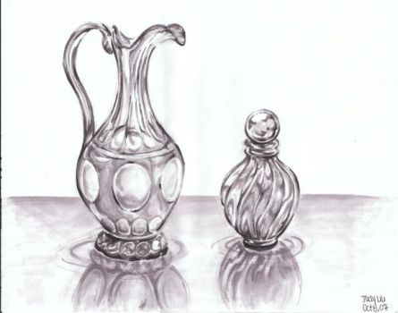 Glass Rendering by awassabee
