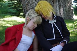 Sleepy Summers [Edward Elric] by BlueWingXIII