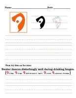 Precursor Worksheet - D by DrinkTeaOrDie