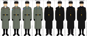 RIAF Enlisted Everyday Winter Uniform by DaltTT