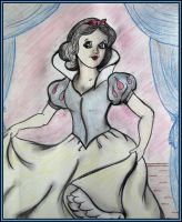 Snow White Charcoal by WDWParksGal