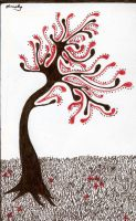 Blood Tree by MindImplosion