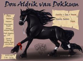 Don Aldrik van Dokkum by FlareAndIcicle