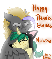 Honey's Thanksgiving by ive-moved-bitches