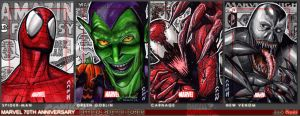 Marvel 70th Sketch Cards 6 by J-Redd