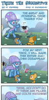 Ponytitis - Trixie the Suggestive by Wadusher0