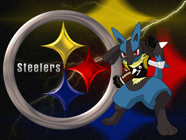 Pkmn Football I: Steelers by BehindClosedEyes00