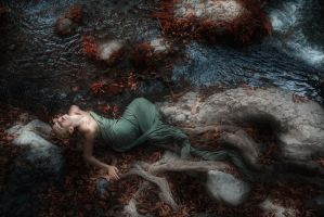 mermaid or dragon or snake by apostolos-t