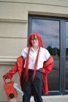 I'm Fabulous You Know . Grell by Midnight-Dance-Angel