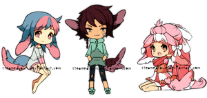ADOPTABLE fluffens: Random batch (ended!) by Steamed-Bun