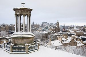 Dugald Stewart Monument by Chris-Brown