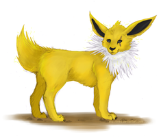 Jolteon by starmixed