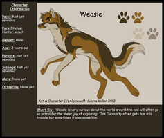 Weasle-SG by WickedSpecter