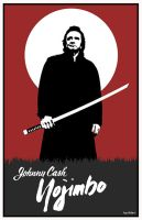 Johnny Cash Yojimbo by Hartter