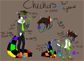 Carter Samuell Checkers ref by XShadowstar