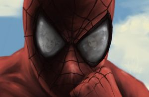 Spidey and friends by TuaX