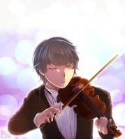 Violinist by Ryouuu
