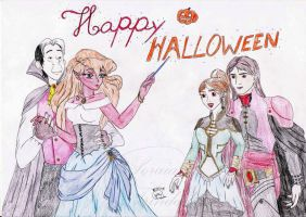 Happy Halloween by Lady-Scorpion