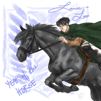 Year of the Horse - Lance and Levi by Equestrian-Equine