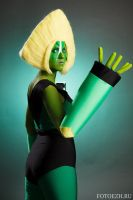 Peridot Cosplay Steven Universe by Sioxanne