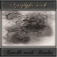 crackle earthe brushes by AzurylipfesStock