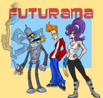 Futurama by tradersluck