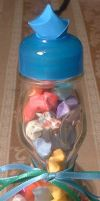 Ramune Star bottle Kit or Gift by silverbeam