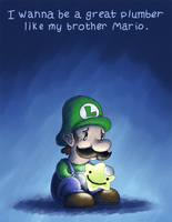 Super Mario RPG - Luigi's Wish by SunnieF