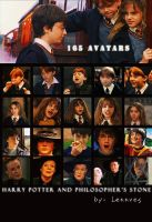 Harry Potter avatars II by Lennves